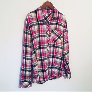 Gap Loose Fit Flannel Shirt